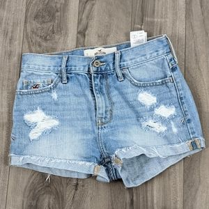 Hollister Shorts Size 0 24 Distressed